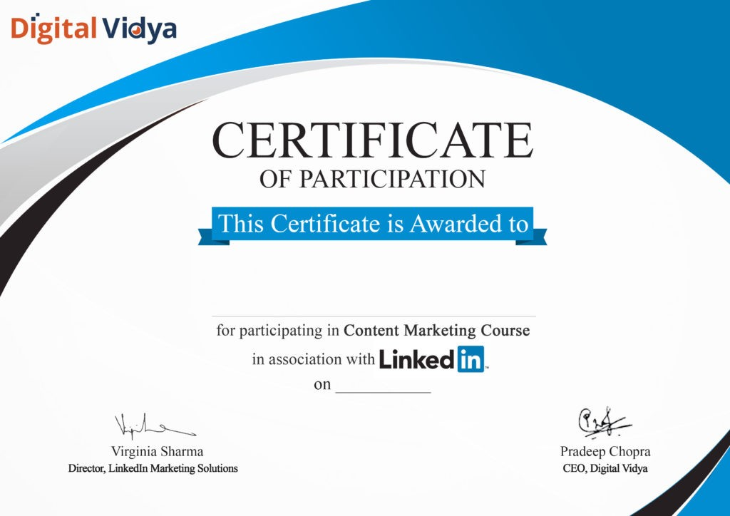 Online Digital Marketing Courses With Certificates
