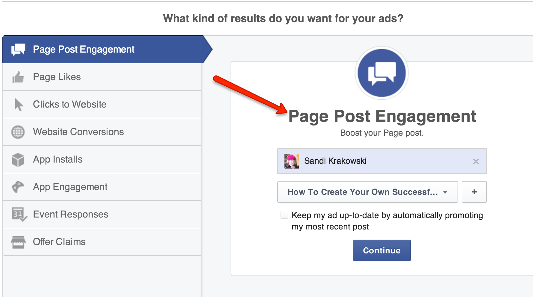 how to write the best facebook ad