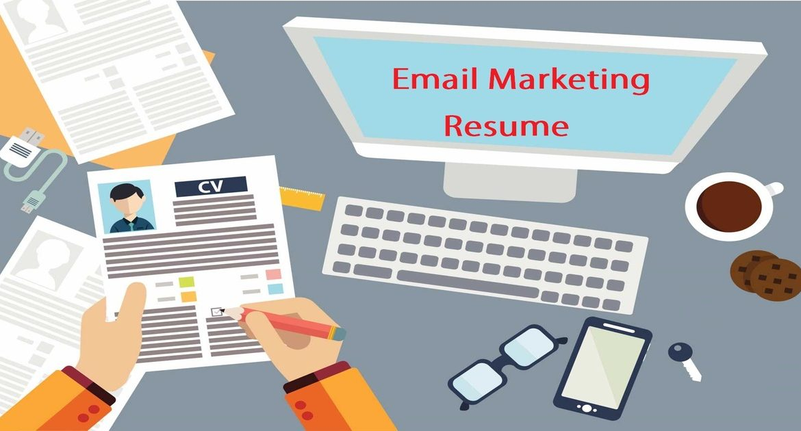 how to write an email marketing resume sample that hrs choose