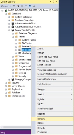 import data from excel to SQL server
