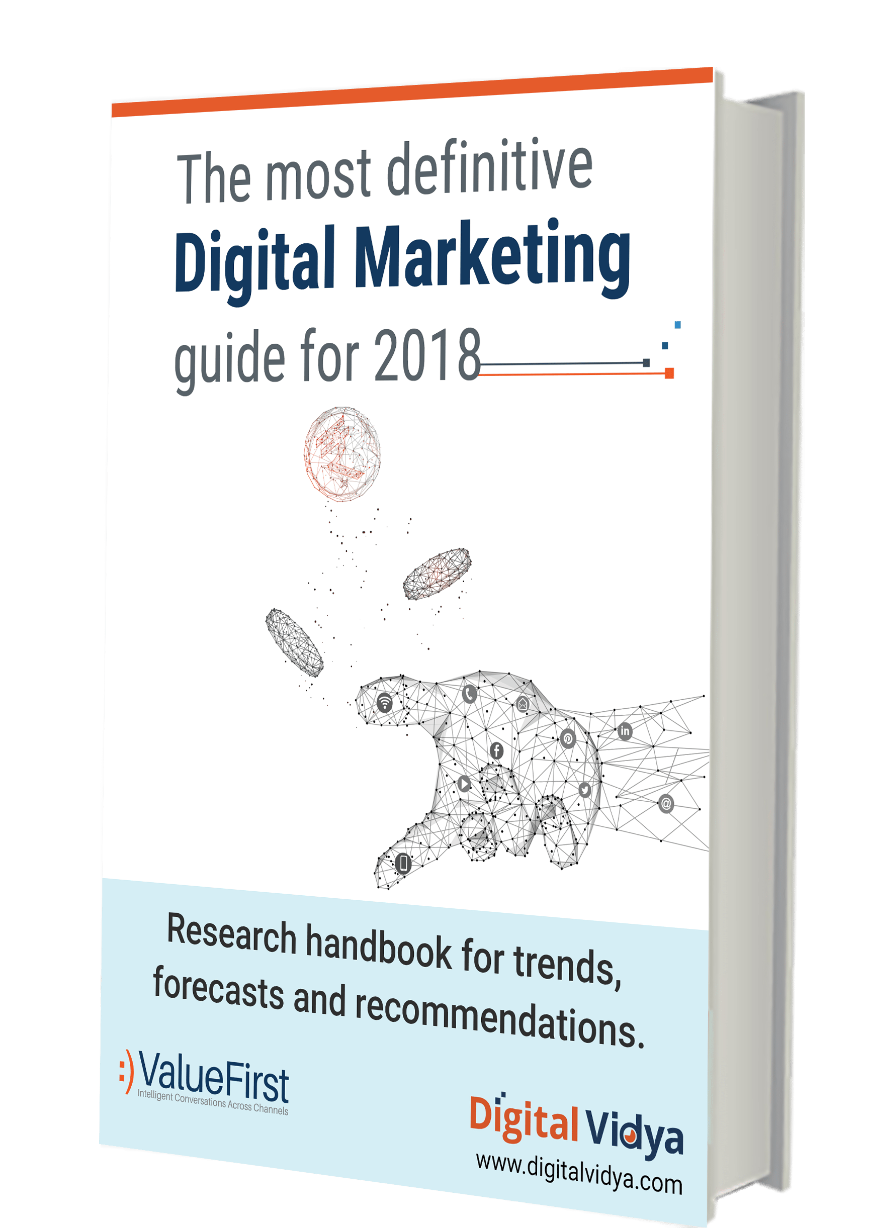 Annual Report of Digital Marketing in India in 2018