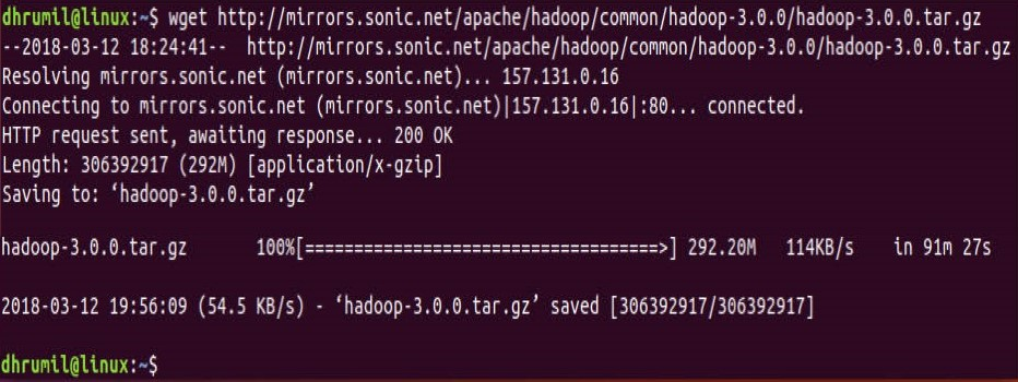 How to Install Hadoop On Ubuntu 17 10 And Run Your First MapReduce