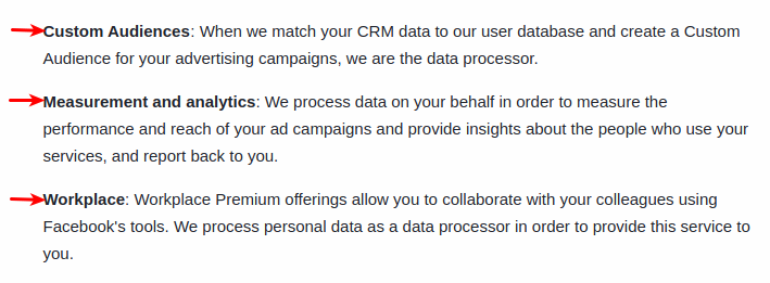 GDPR Compliance Facebook Ads