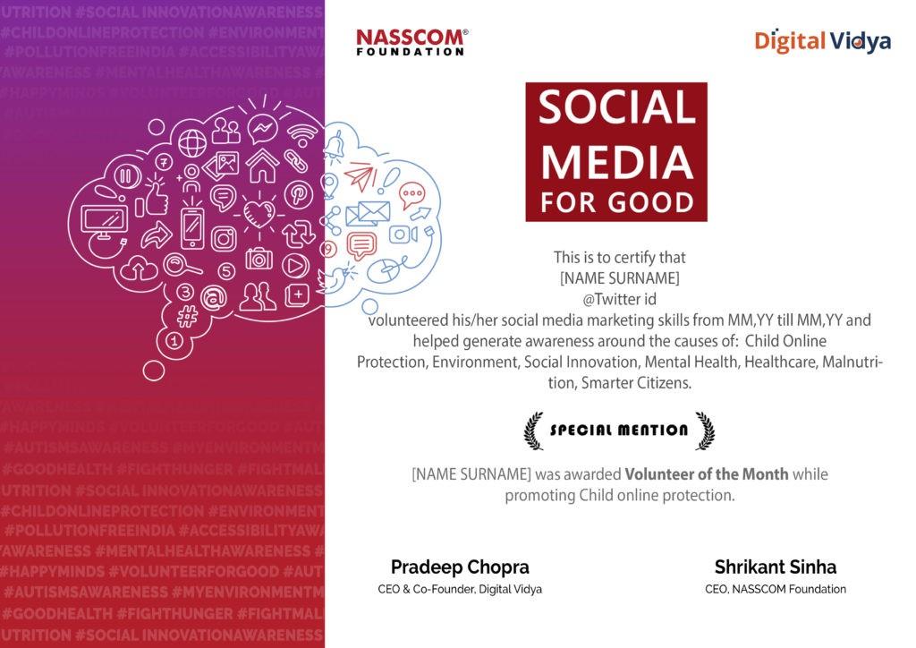 Digital Vidya Associates With Nasscom Foundation For Live Project On