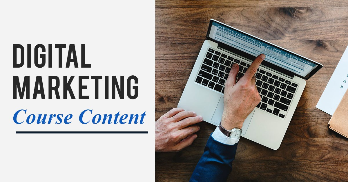Digital Marketing Course Content for Beginners