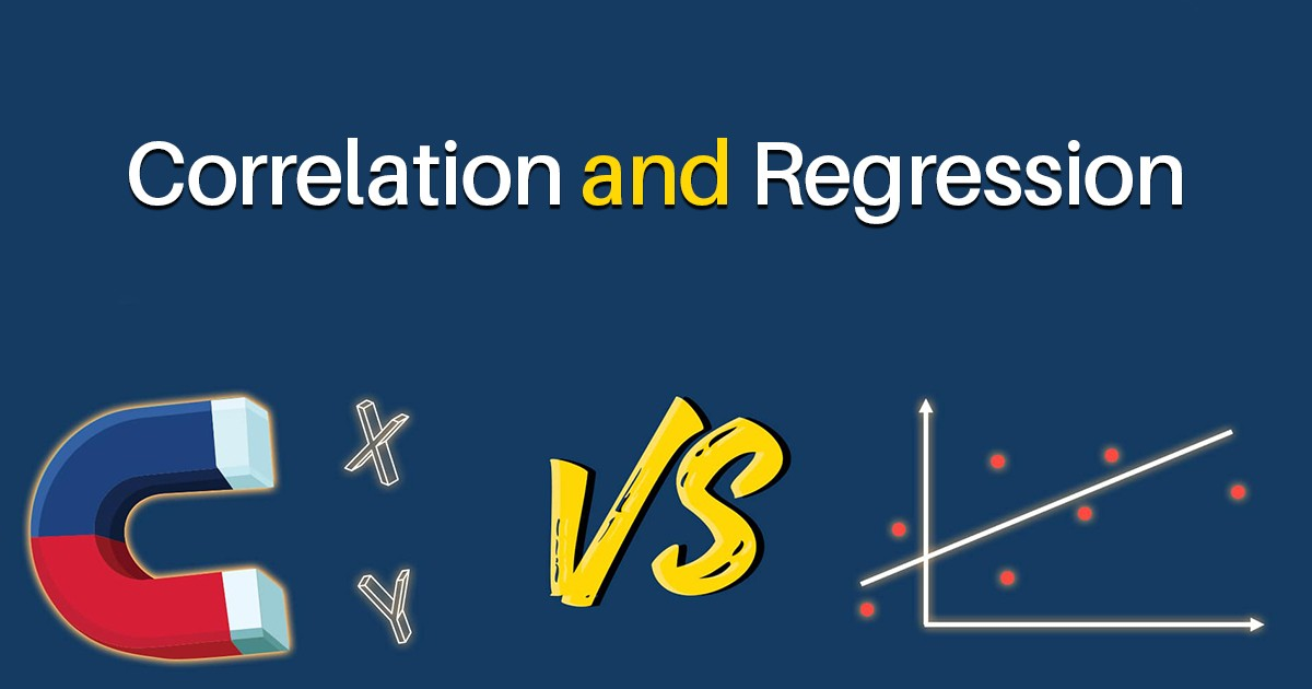 Correlation and Regression: A Comparative Study