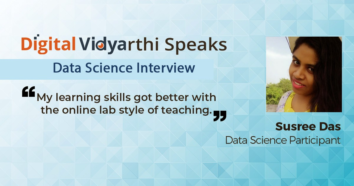 Interview with Susree Das, Data Science Participant