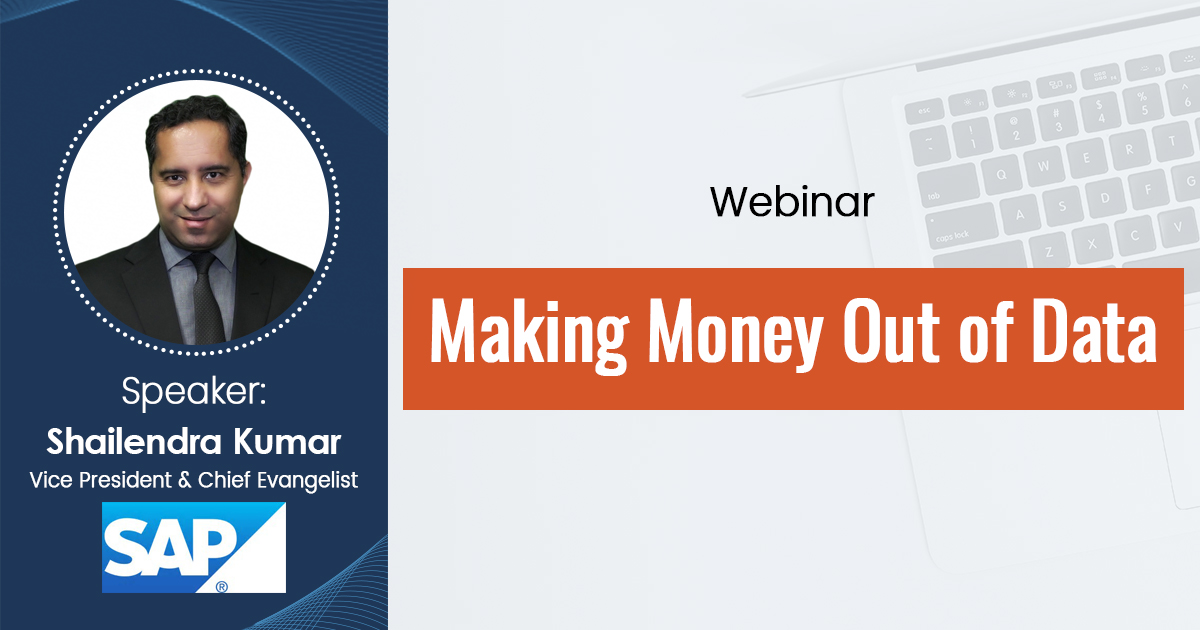 Making Money Out of Data-Webinar Recording