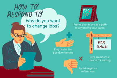Why do you want to change job?