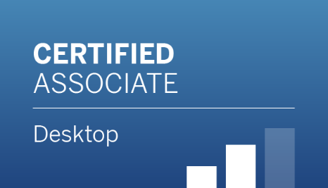 Tableau Desktop Qualified Associate