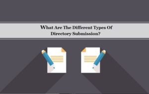 Types of Directory Submission