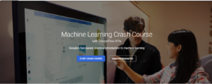 Google Machine Learning Crash Course