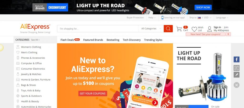 Steps to Set up your AliExpress Dropshipping Store