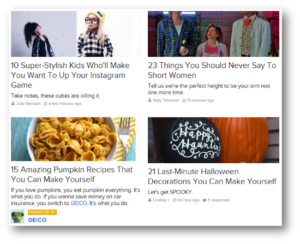 Example of Native Advertising