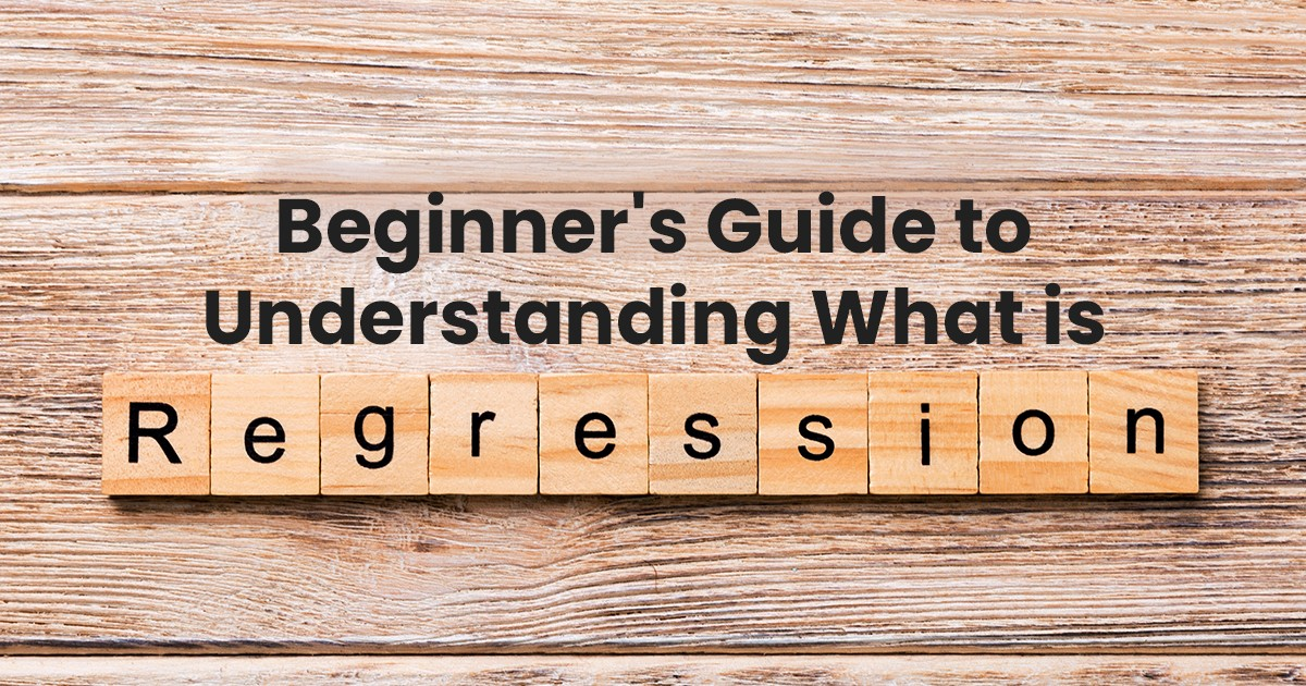 A Beginner's Guide to Understanding What is Regression
