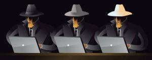 what are the 3 types of hackers