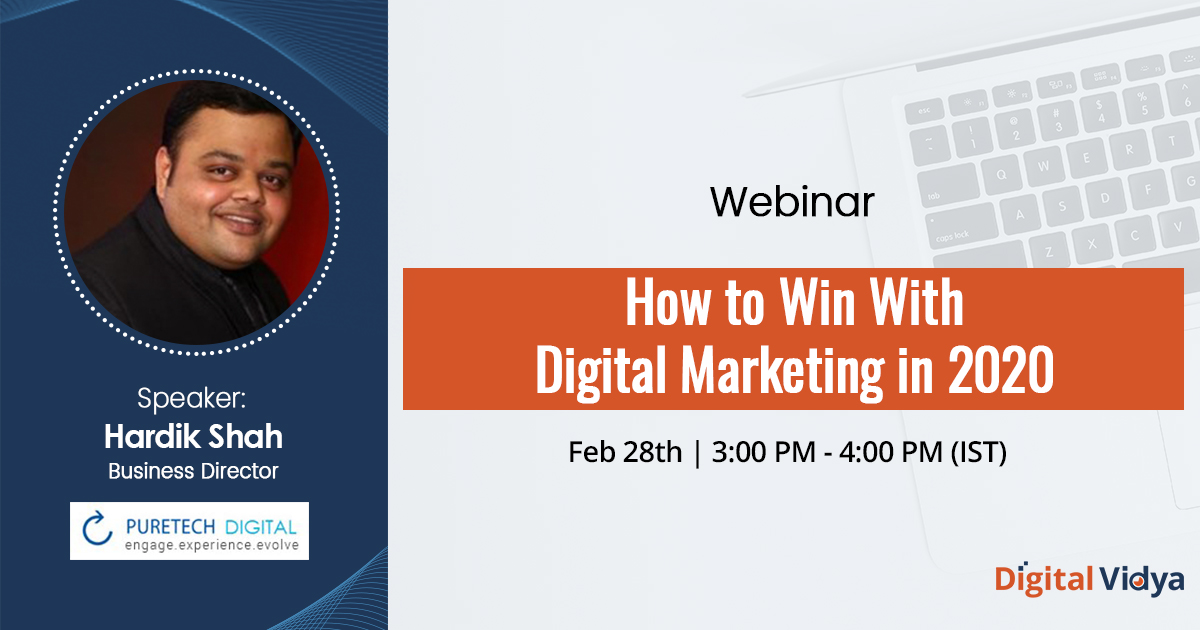 How to Win With Digital Marketing in 2020-Webinar Recording