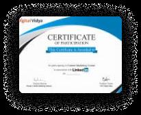 linkedin certification